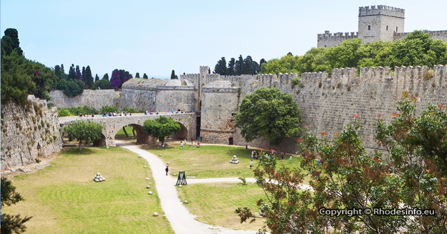 The Medieval town of Rhodes